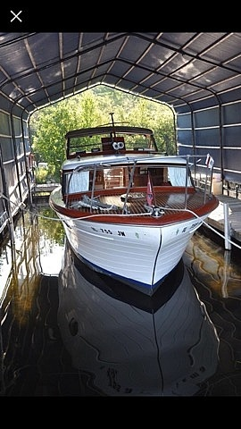 1956 Chris Craft boat for sale, model of the boat is Constellation 34 & Image # 15 of 23