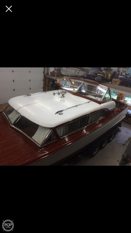1956 Chris Craft boat for sale, model of the boat is Constellation 34 & Image # 20 of 23