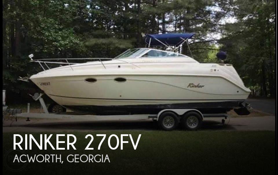 Used Rinker 270 Boats For Sale by owner | 1999 Rinker 270fv