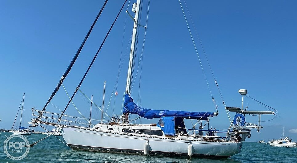 1967 Islander boat for sale, model of the boat is 37 Wayfarer & Image # 3 of 40