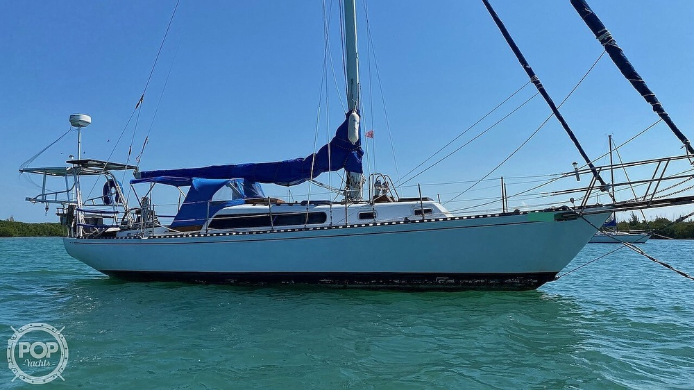 1967 Islander boat for sale, model of the boat is 37 Wayfarer & Image # 8 of 40
