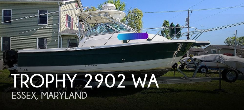 2004 Trophy boat for sale, model of the boat is 2902 WA & Image # 1 of 40