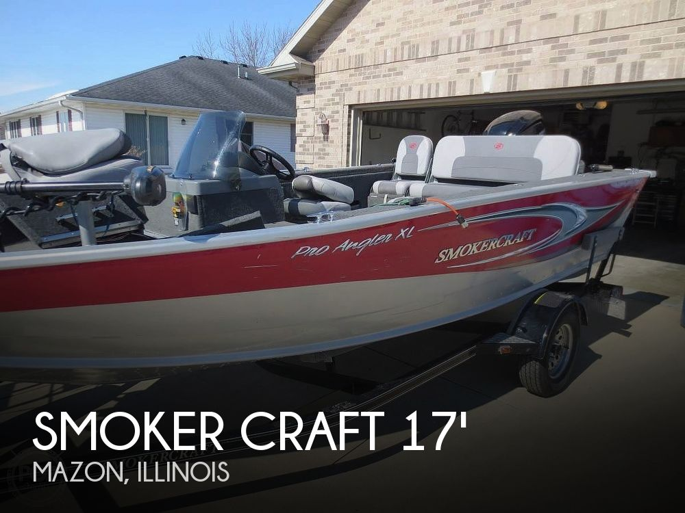 Used Smoker Craft Boats For Sale by owner | 2016 17 foot Smoker Craft Pro Angler Xl