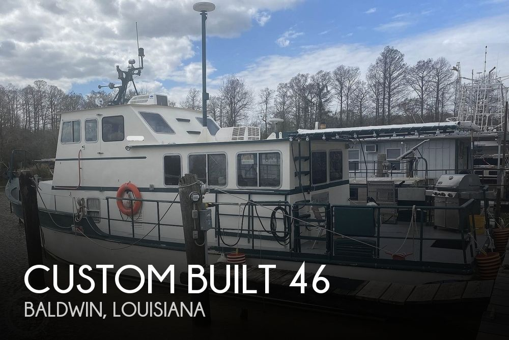 1988 Custom boat for sale, model of the boat is 46 & Image # 1 of 40
