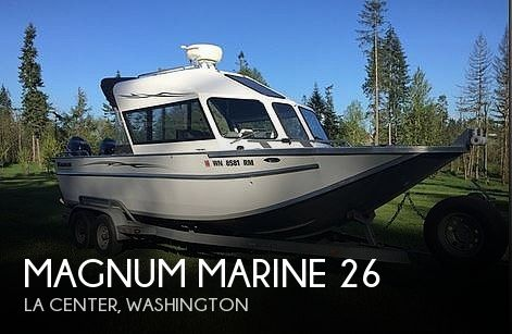 Used Magnum Marine Boats For Sale by owner | 2004 Magnum Marine Ultramag 26