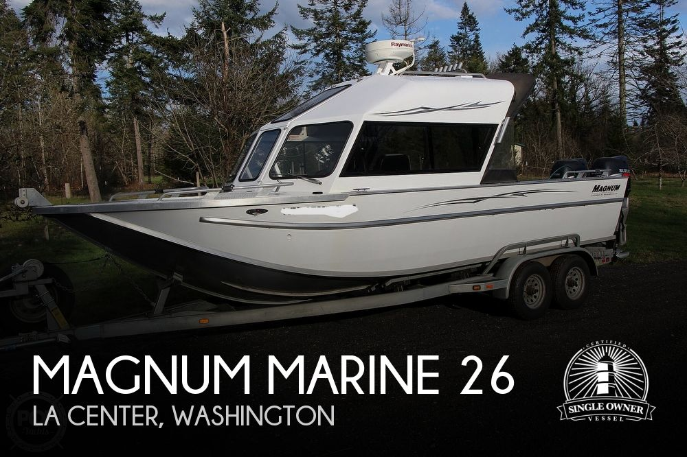 2004 Magnum Marine boat for sale, model of the boat is Ultramag 26 & Image # 1 of 40