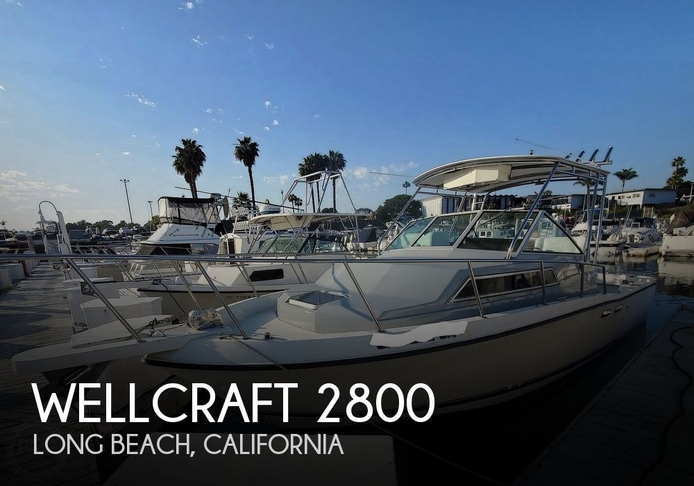 Used Wellcraft Boats For Sale in California by owner | 1987 Wellcraft 2800 Coastal