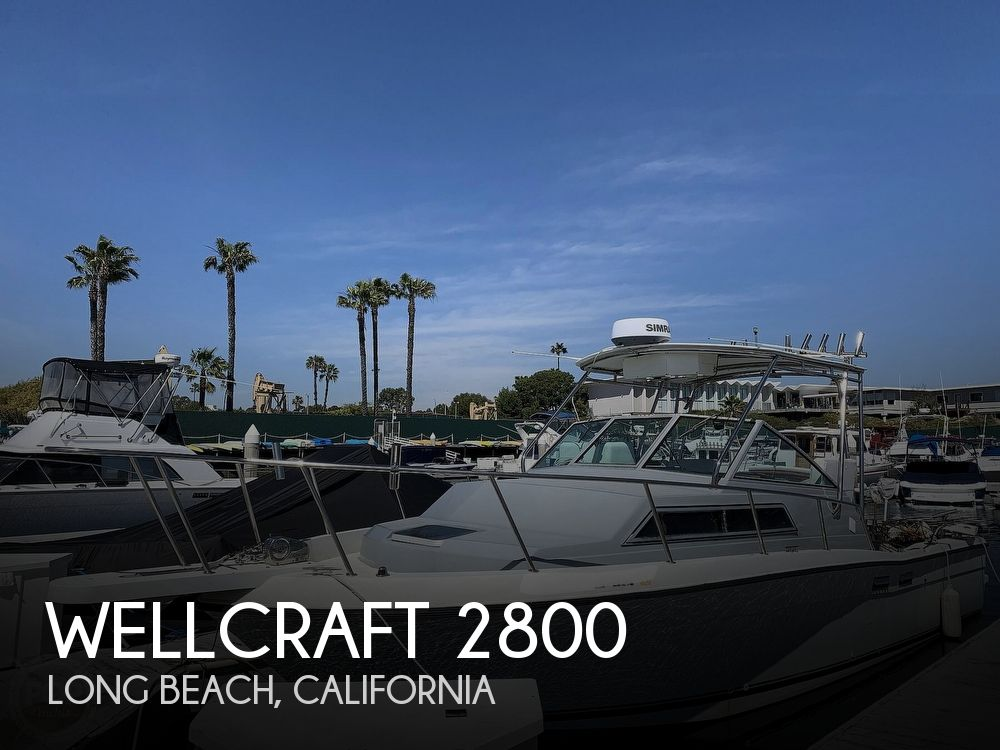 1988 Wellcraft boat for sale, model of the boat is 2800 Coastal & Image # 1 of 40
