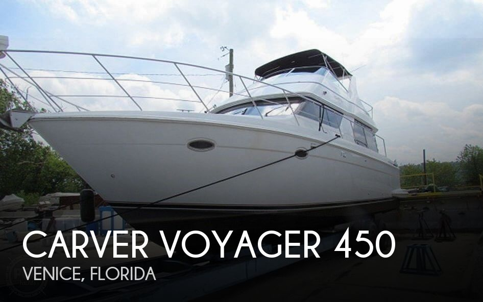 Used Boats For Sale in Tampa, Florida by owner | 2002 Carver Voyager 450
