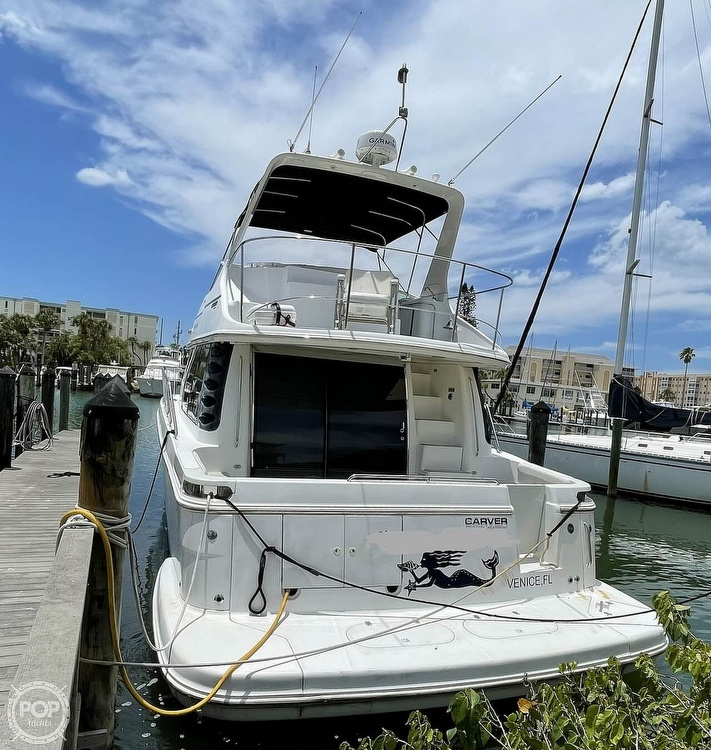 2002 Carver boat for sale, model of the boat is Voyager 450 Pilothouse & Image # 12 of 40