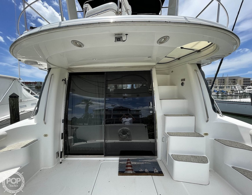 2002 Carver boat for sale, model of the boat is Voyager 450 Pilothouse & Image # 25 of 40