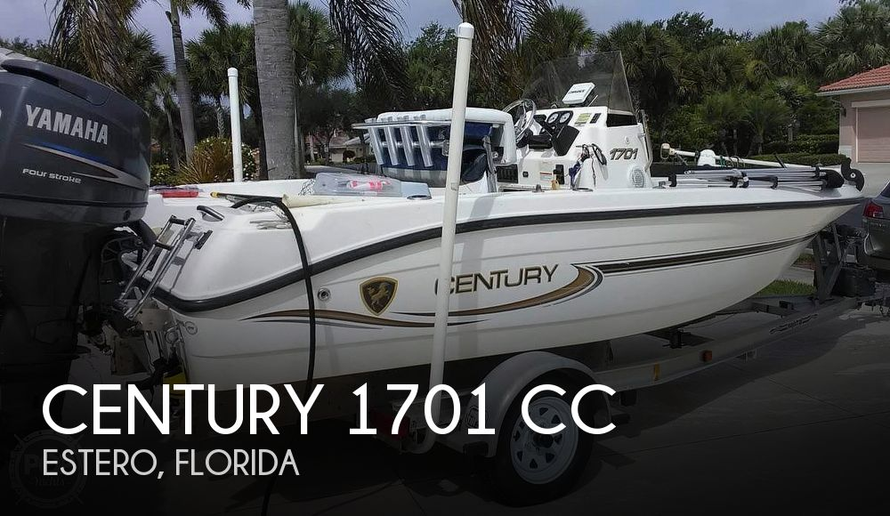 2006 Century boat for sale, model of the boat is 1701 CC & Image # 1 of 11