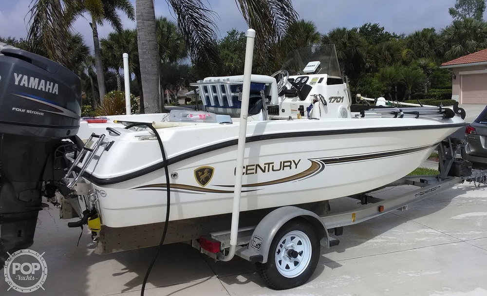 2006 Century boat for sale, model of the boat is 1701 CC & Image # 4 of 11