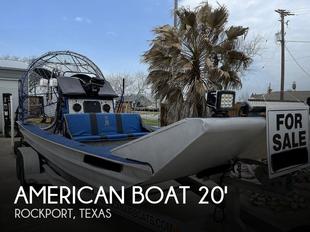 Used Boats For Sale in Corpus Christi, Texas by owner | 2015 20 foot American Boat Air Ranger