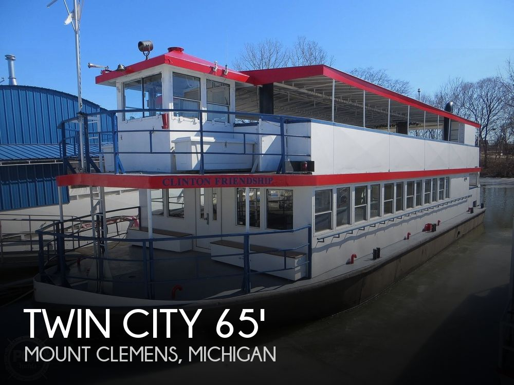 Used Boats For Sale in Saginaw, Michigan by owner | 1984 65 foot Twin City Twin City Passenger Vessel
