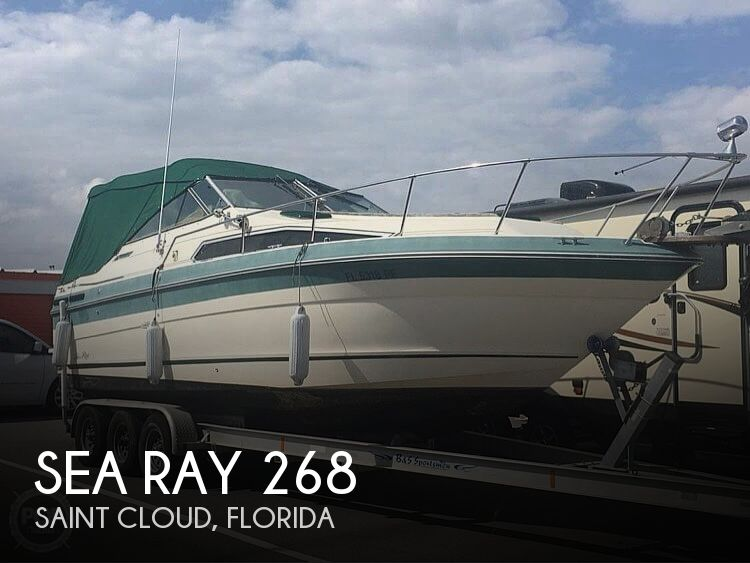 1988 Sea Ray boat for sale, model of the boat is 268 Sundancer & Image # 1 of 40