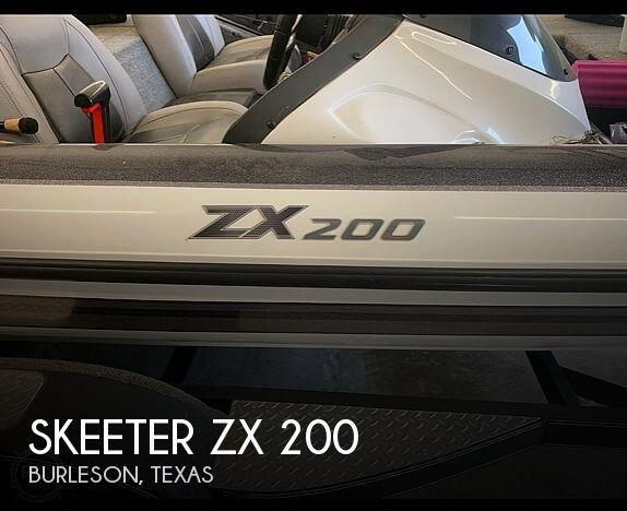 Used Skeeter Boats For Sale in Texas by owner | 2012 Skeeter ZX 200