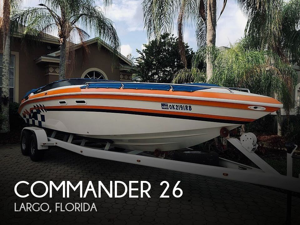 Used Commander Boats For Sale by owner | 1998 Commander Signature 26