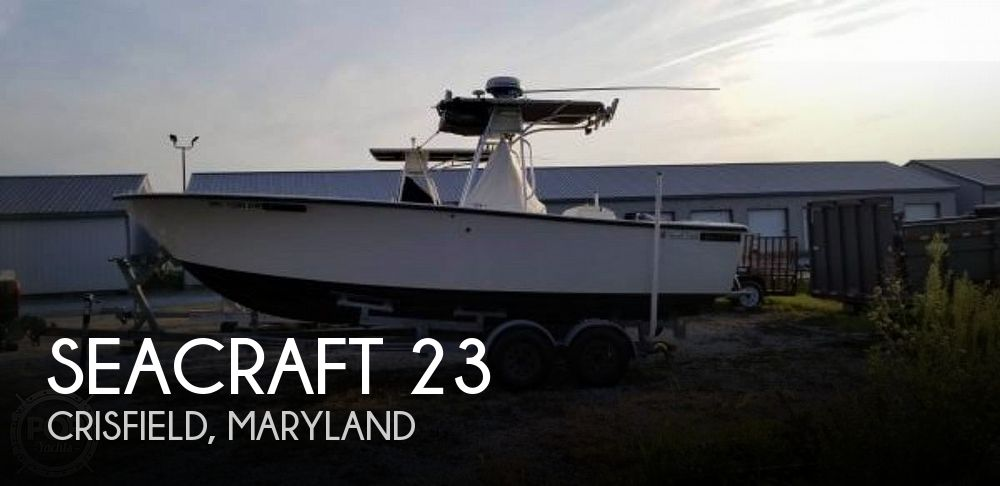 Used SEACRAFT Boats For Sale by owner | 1978 SeaCraft 23 Super Fisherman IB