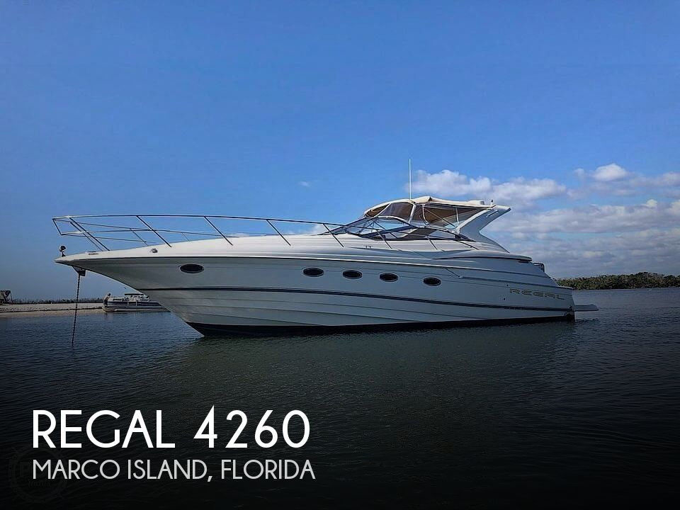 Used Regal Boats For Sale in Florida by owner | 2002 Regal Commodore 4260