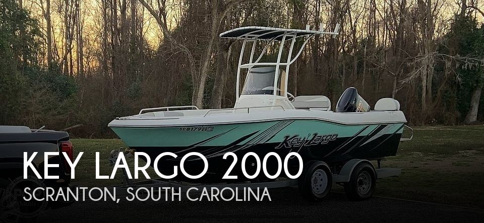 Used Key largo Boats For Sale by owner   2018 Key Largo 20