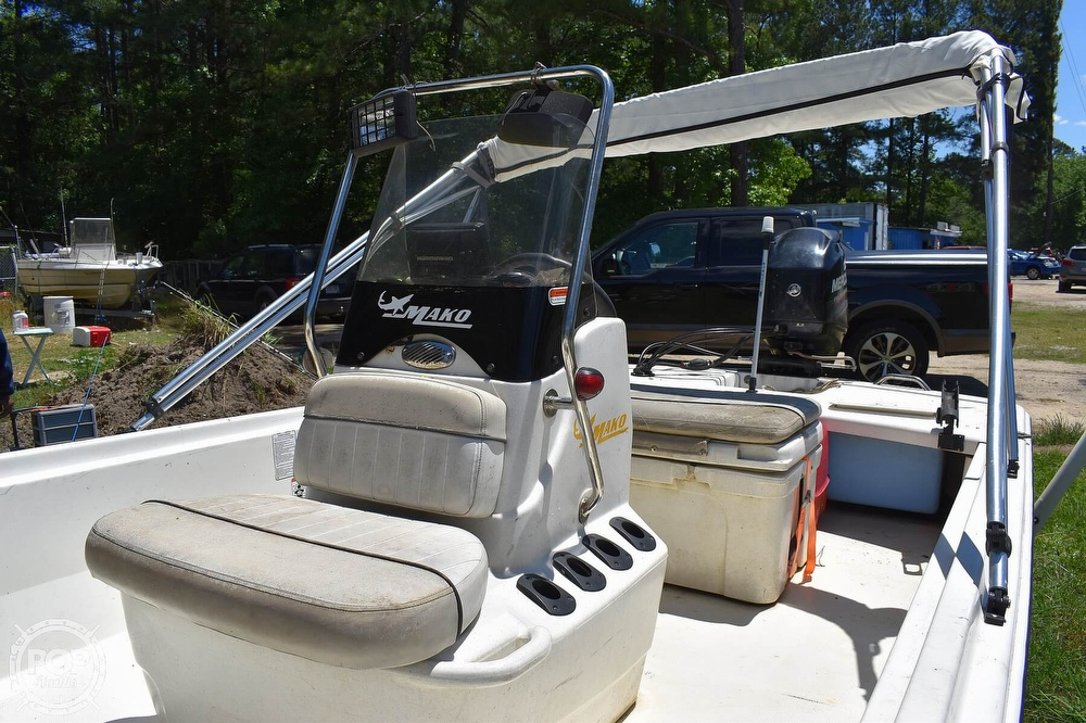 2016 Mako boat for sale, model of the boat is 17 Pro skiff & Image # 5 of 40