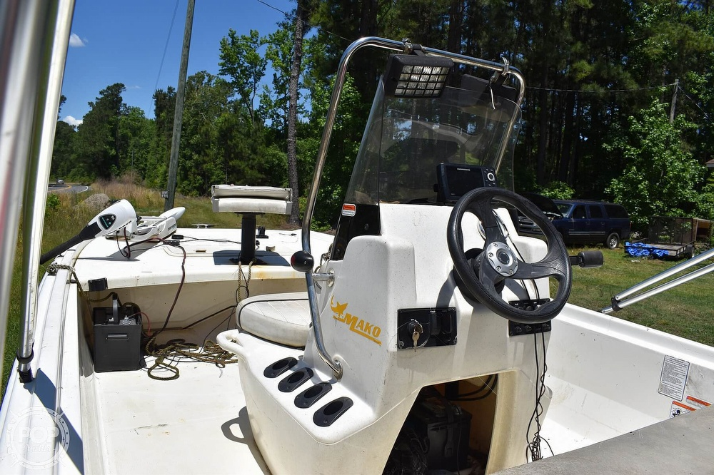 2016 Mako boat for sale, model of the boat is 17 Pro skiff & Image # 8 of 40