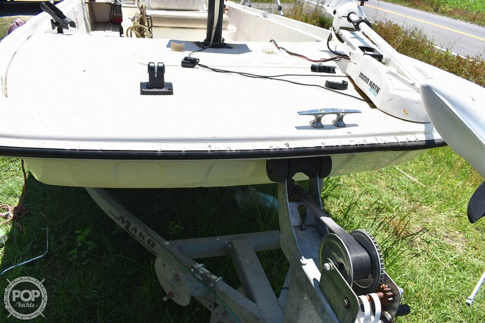 2016 Mako boat for sale, model of the boat is 17 Pro skiff & Image # 32 of 40
