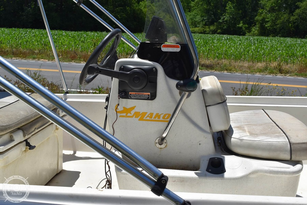 2016 Mako boat for sale, model of the boat is 17 Pro skiff & Image # 12 of 40