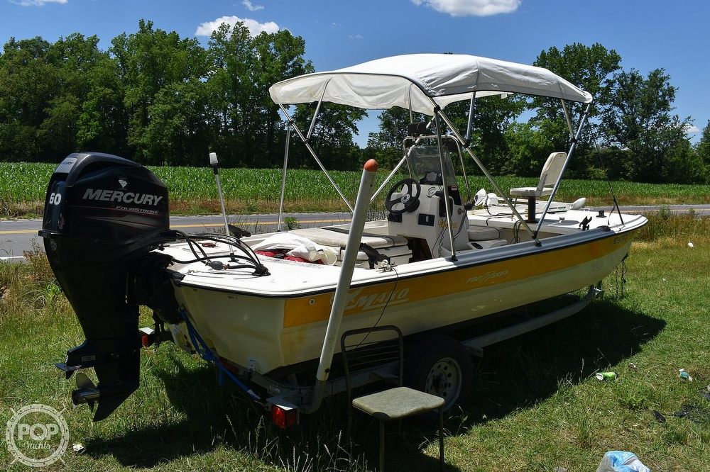2016 Mako boat for sale, model of the boat is 17 Pro skiff & Image # 14 of 40