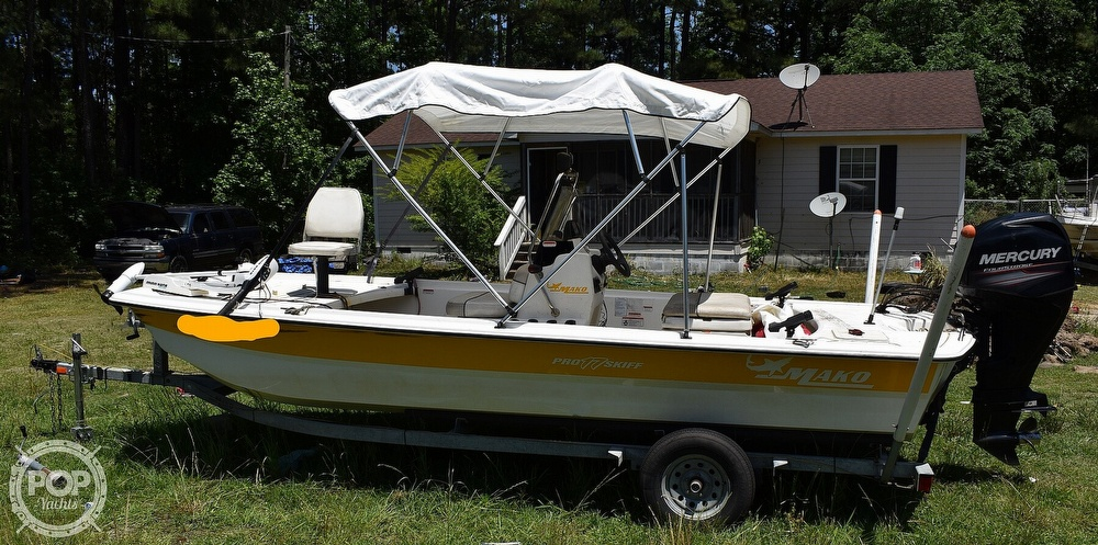 2016 Mako boat for sale, model of the boat is 17 Pro skiff & Image # 13 of 40