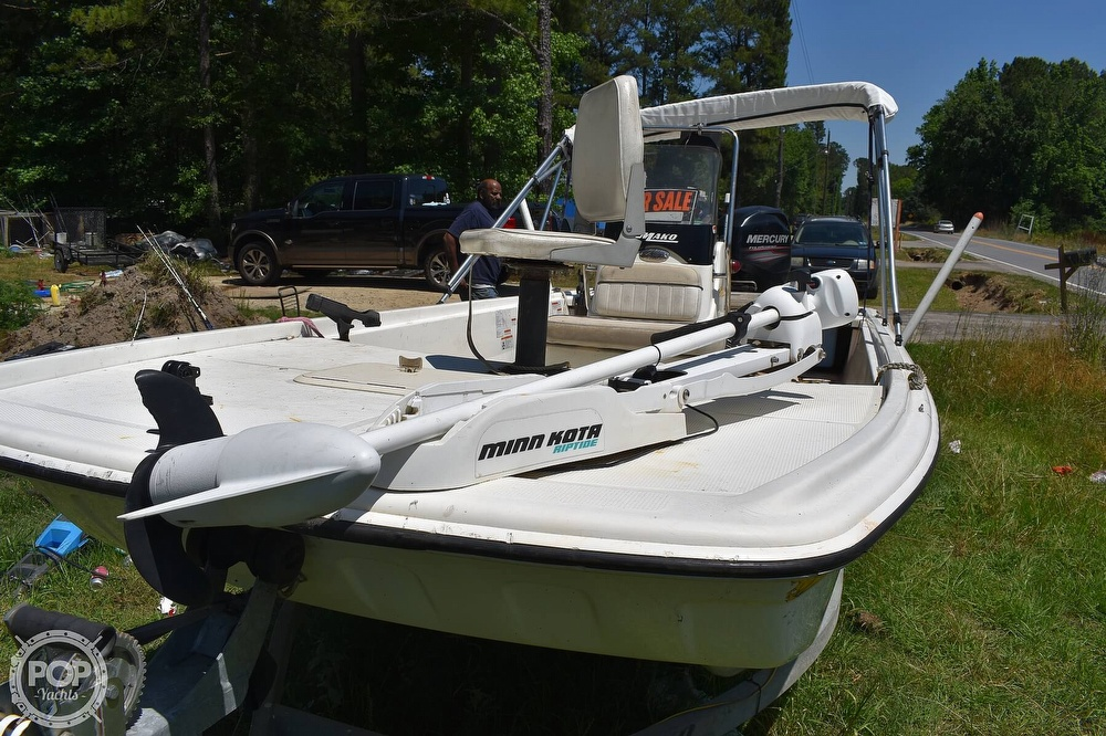 2016 Mako boat for sale, model of the boat is 17 Pro skiff & Image # 3 of 40