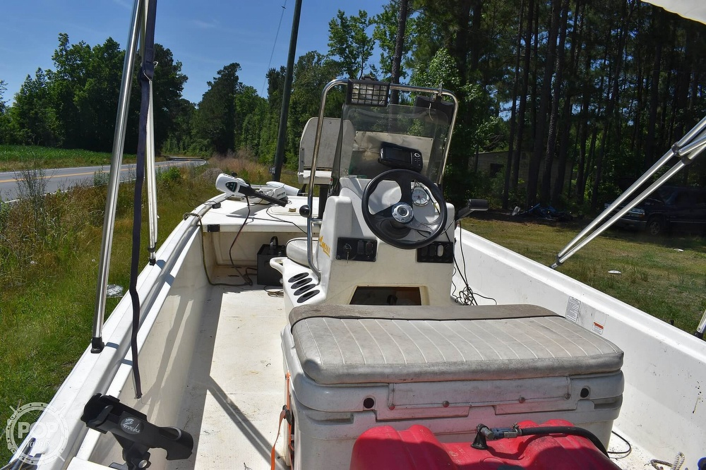 2016 Mako boat for sale, model of the boat is 17 Pro skiff & Image # 4 of 40