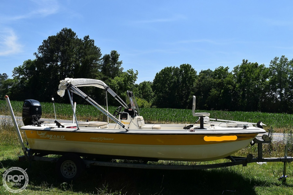 2016 Mako boat for sale, model of the boat is 17 Pro skiff & Image # 2 of 40