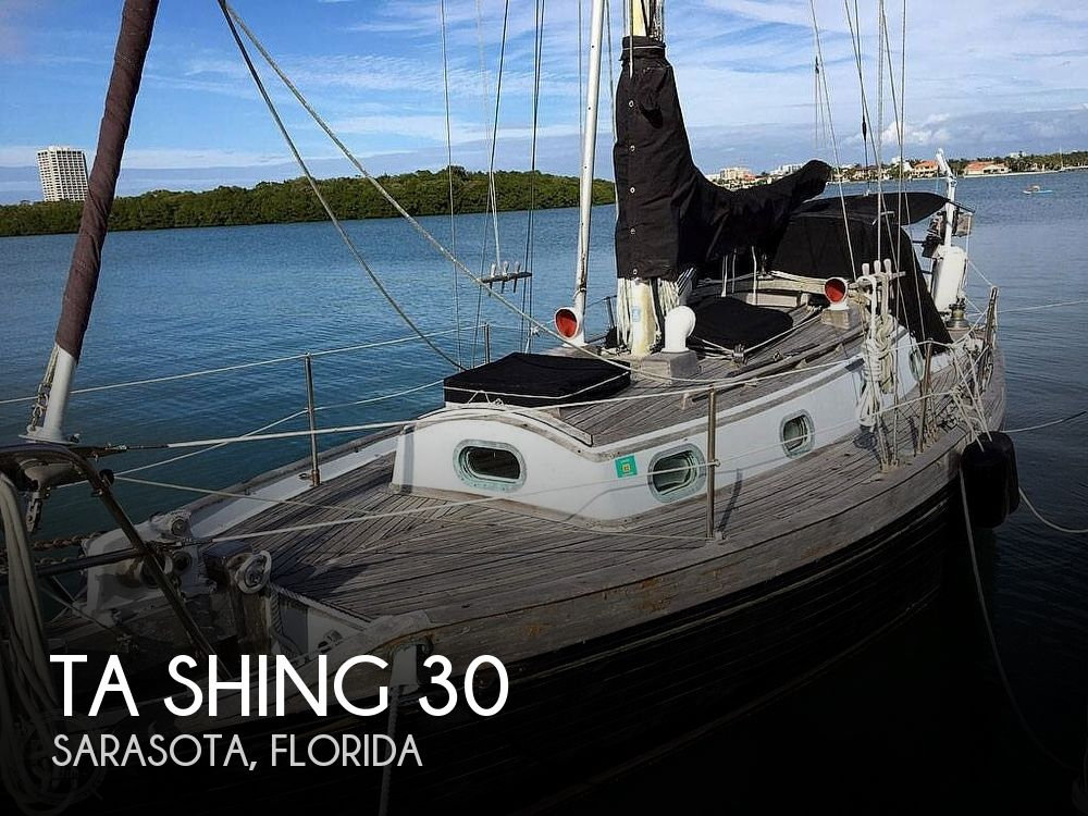 1978 Ta Shing boat for sale, model of the boat is Baba 30 Cutter & Image # 1 of 40