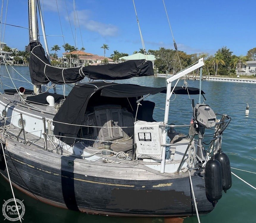 1978 Ta Shing boat for sale, model of the boat is Baba 30 Cutter & Image # 31 of 40