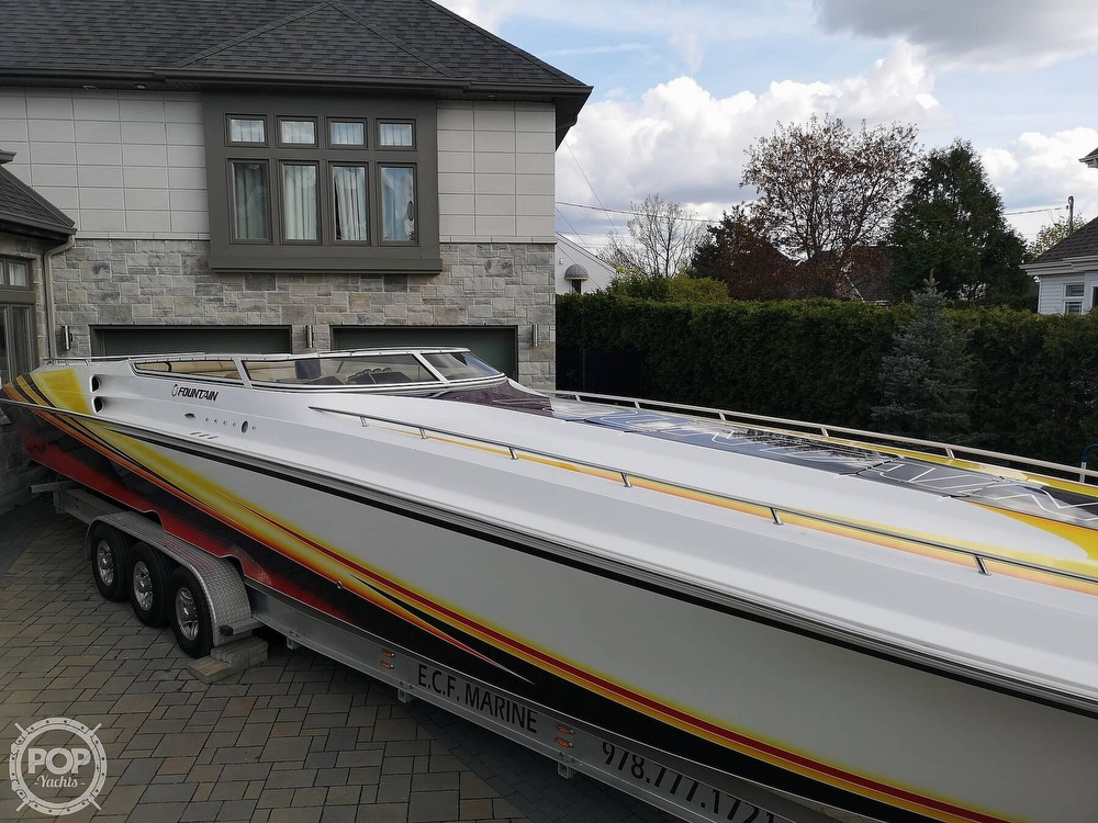 2005 Fountain boat for sale, model of the boat is Lightning 47 & Image # 29 of 40
