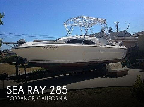 Used Sea Ray 28 Boats For Sale in California by owner | 1982 Sea Ray 285