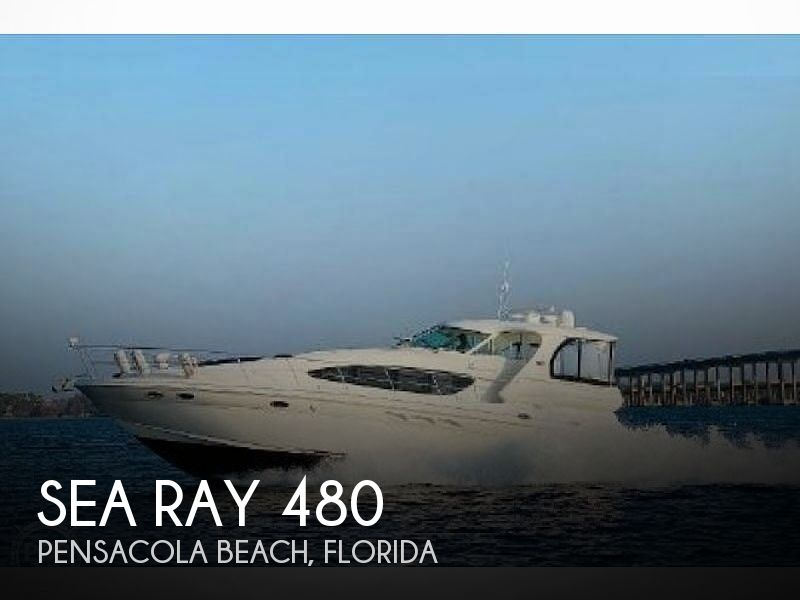 Used Motoryachts For Sale in Florida by owner | 2005 Sea Ray 480