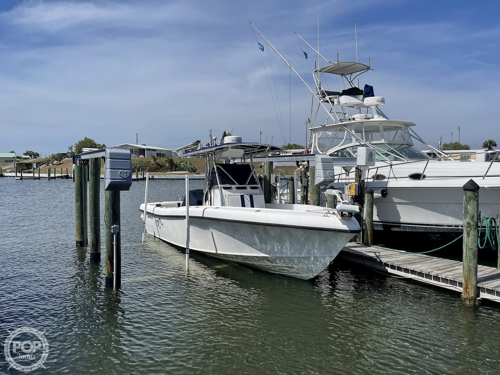 2003 Ocean Master boat for sale, model of the boat is 27 CC & Image # 2 of 40