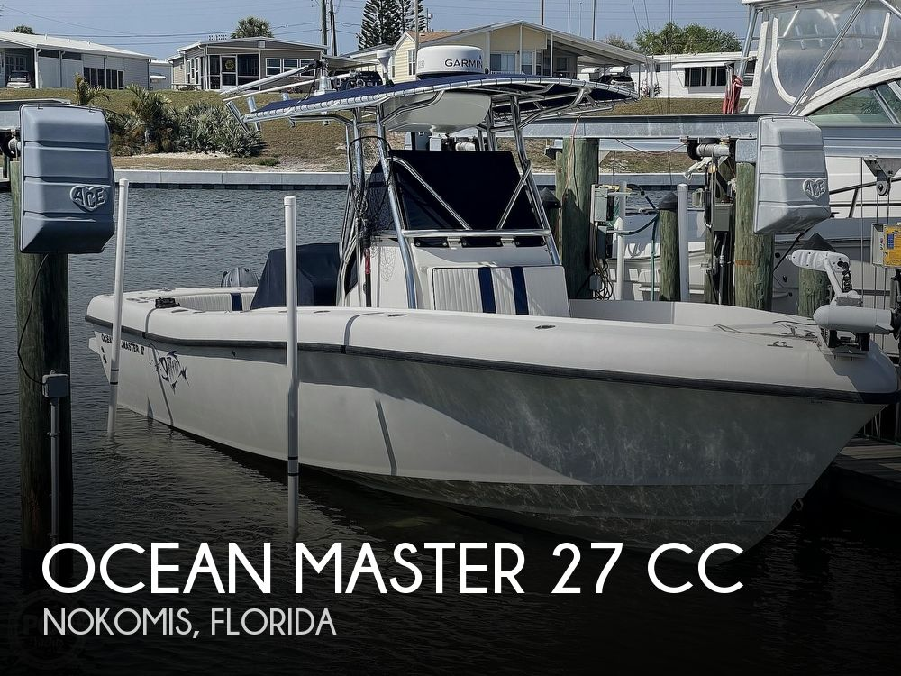 2003 Ocean Master boat for sale, model of the boat is 27 CC & Image # 1 of 40