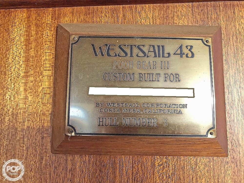 1976 Westsail boat for sale, model of the boat is 43 & Image # 9 of 40