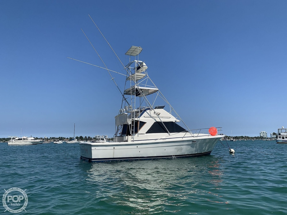 1982 Phoenix boat for sale, model of the boat is 38 CNV & Image # 3 of 40