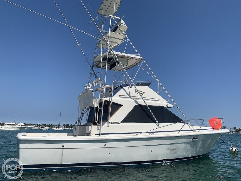 1982 Phoenix boat for sale, model of the boat is 38 CNV & Image # 2 of 40