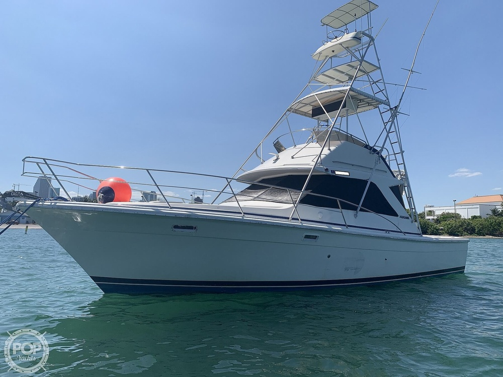 1982 Phoenix boat for sale, model of the boat is 38 CNV & Image # 8 of 40