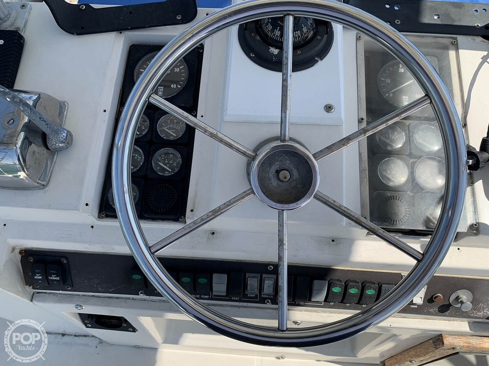 1982 Phoenix boat for sale, model of the boat is 38 CNV & Image # 40 of 40