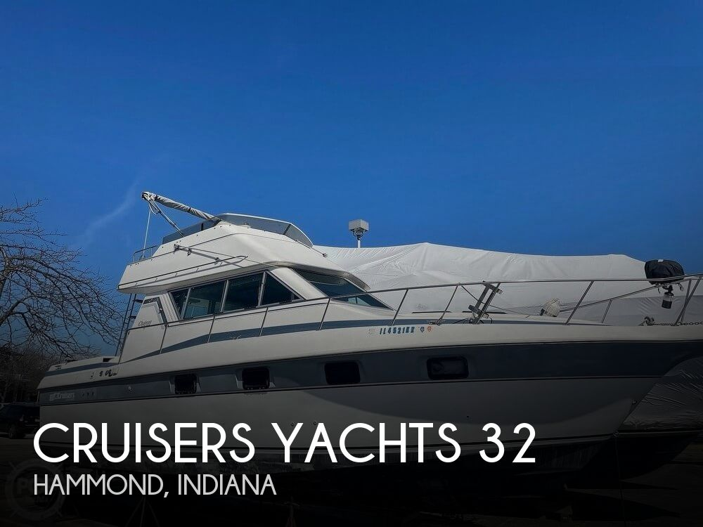 Used Boats For Sale in Indiana by owner | 1986 Cruisers Yachts 32
