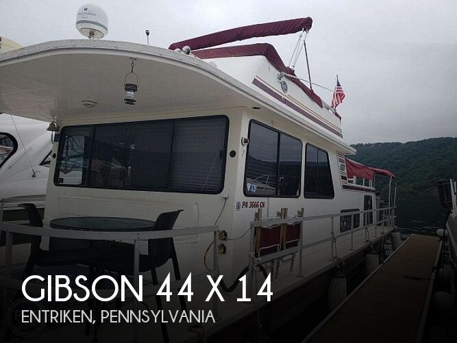 Used Boats For Sale in Hagerstown, Maryland by owner | 1997 Gibson 44 x 14