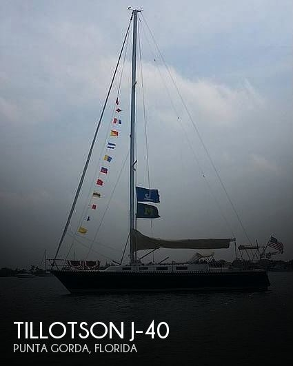 Used Tillotson   Pearson Boats For Sale by owner | 1987 Tillotson & Pearson 40