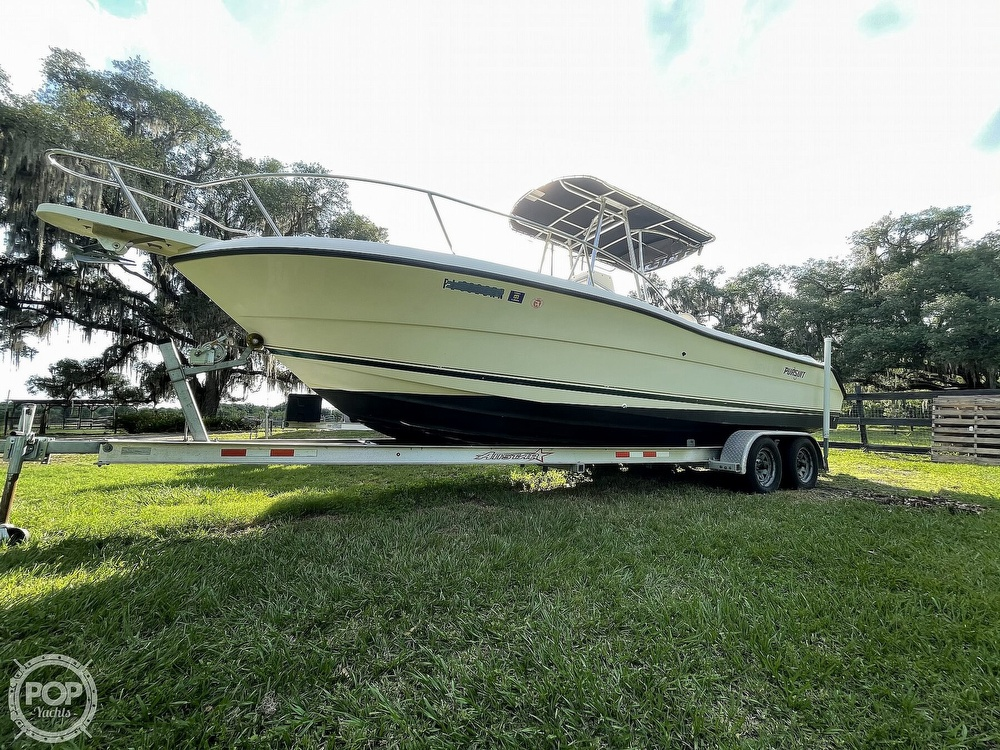 2000 Pursuit boat for sale, model of the boat is 2470 CC & Image # 11 of 40